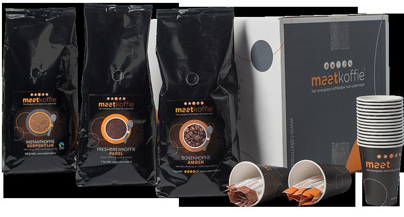 Maatkoffie-lijn breidt uit met Amber en Chocmix Fairtrade