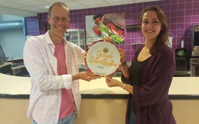 1e gouden Gezonde Schoolkantine Schaal in Zuid-Holland!